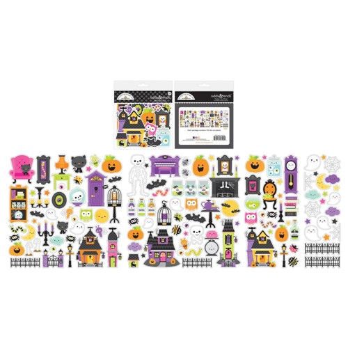 Doodlebug HAPPY HAUNTING ODDS AND ENDS Ephemera Die Cut Shapes 7425 Preview Image