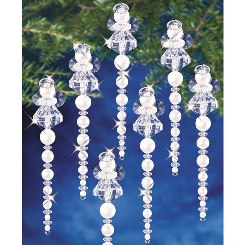 The Beadery ICICLE ANGEL Ornament Kit bok7476 Preview Image