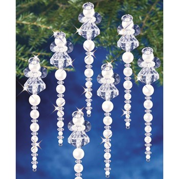 The Beadery ICICLE ANGEL Ornament Kit bok7476