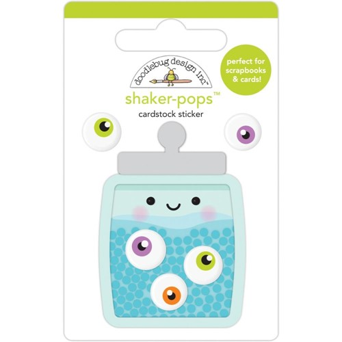 Doodlebug EYE CANDY Shaker Pops 3D Stickers 7415 Preview Image