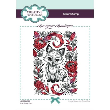 Creative Expressions THE FOX'S DEN Clear Stamp umsdb081
