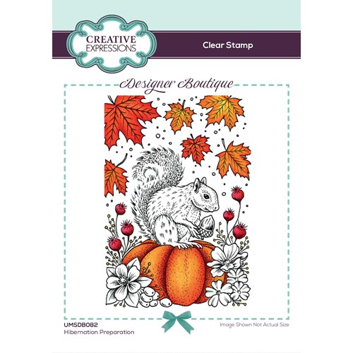 Creative Expressions HIBERNATION PREPARATION Clear Stamp umsdb082 Preview Image
