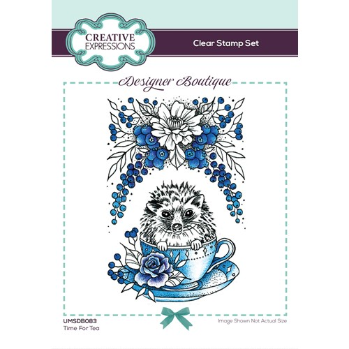 Creative Expressions TIME FOR TEA Clear Stamp umsdb083 Preview Image