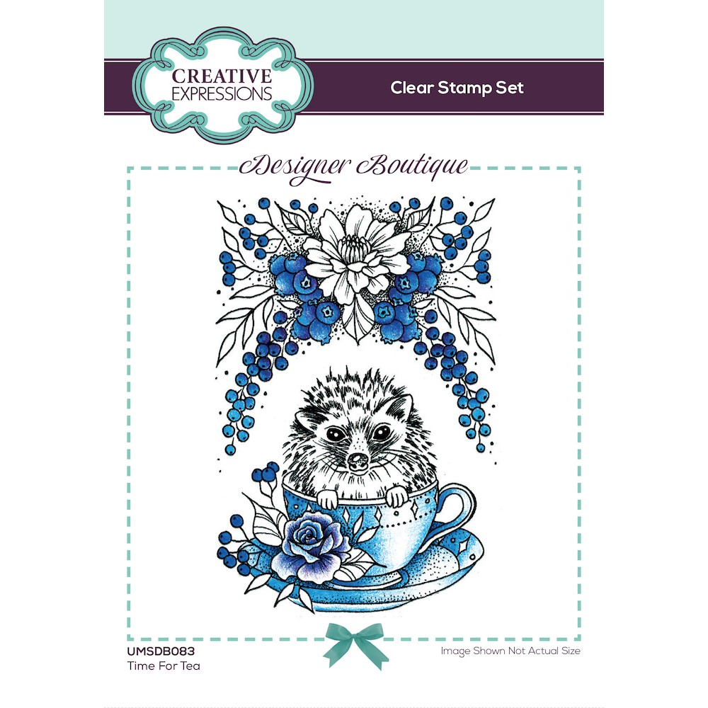 Creative Expressions TIME FOR TEA Clear Stamp umsdb083 zoom image