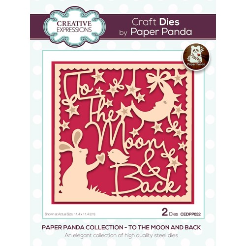 Creative Expressions TO THE MOON AND BACK Craft Dies cedpp032 Preview Image