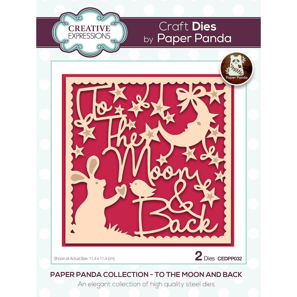 Creative Expressions TO THE MOON AND BACK Craft Dies cedpp032 zoom image