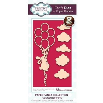 Creative Expressions CLOUD HOPPING Craft Dies cedpp035