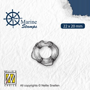 Nellie's Choice MARITIME LIFEBUOY Clear Stamp vcs003