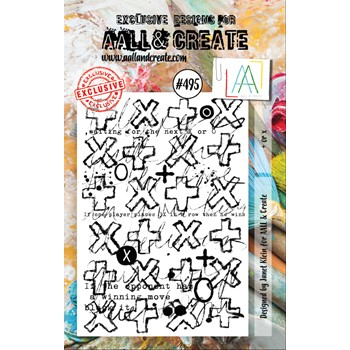 AALL & Create + OR x A7 Clear Stamp aall495
