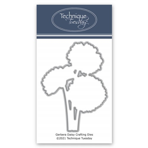Technique Tuesday GERBERA DAISY Crafting Die digsgrb Preview Image