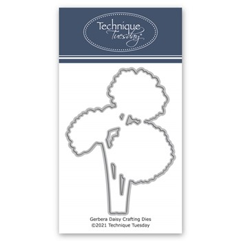 Technique Tuesday GERBERA DAISY Crafting Die digsgrb