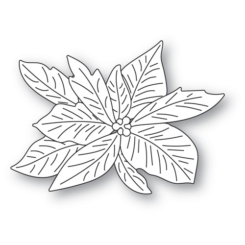 Memory Box LAYERED POINSETTIA Dies 94605 Preview Image