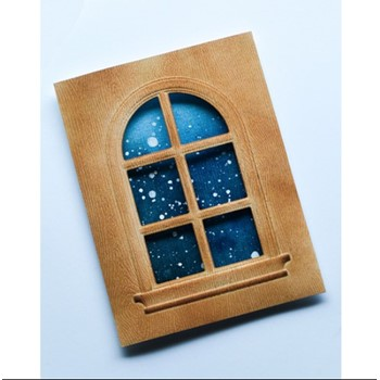Memory Box DOMED WINDOW Emboss and Cut ef1023