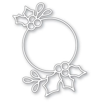 Poppy Stamps HOLLY RING Die 2487