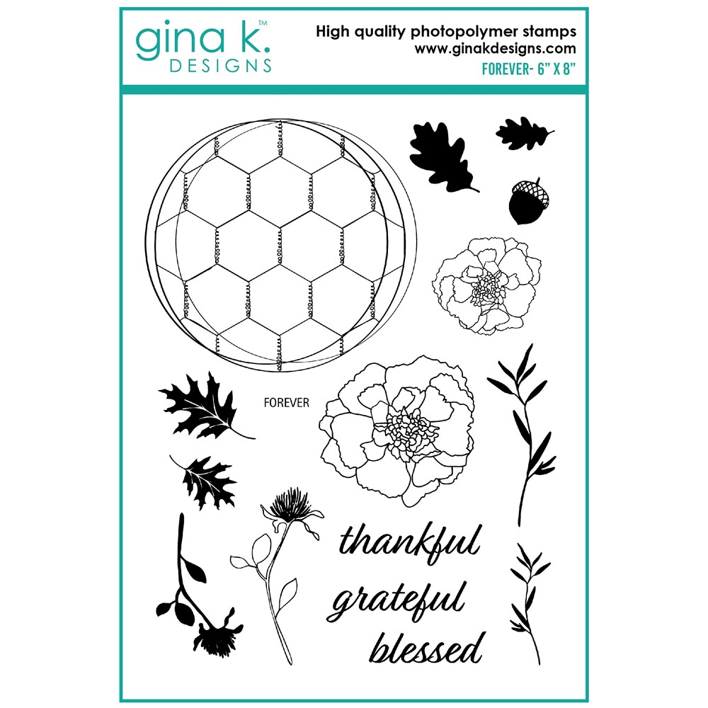 Gina K Designs FOREVER Clear Stamps lh21 zoom image