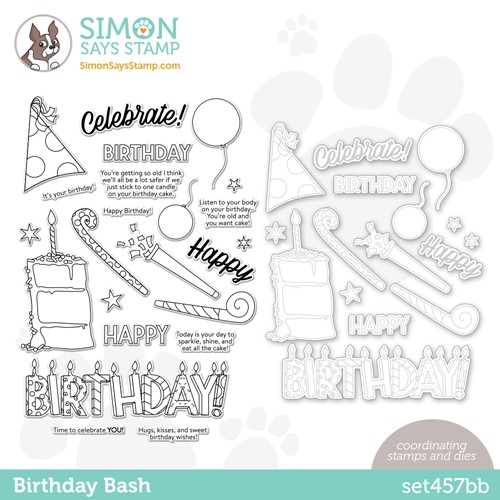 Simon Says Stamps and Dies BIRTHDAY BASH set457bb Preview Image