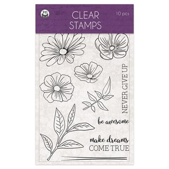 P13 TIME TO RELAX Clear Stamps P13-TTR-30
