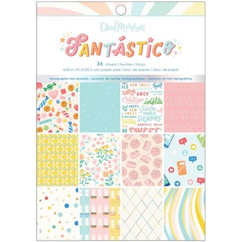 American Crafts Obed Marshall FANTASICO 6 x 8 inch Paper Pad 34008112