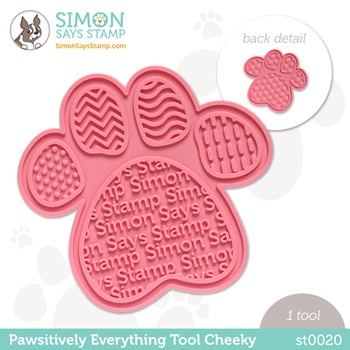 Simon Says Stamp PET PAWSITIVELY EVERYTHING TOOL CHEEKY st0020 Peace on Earth