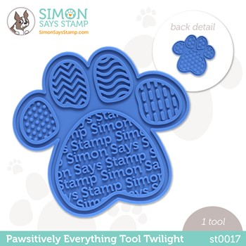 Simon Says Stamp PET PAWSITIVELY EVERYTHING TOOL TWILIGHT st0017 Peace on Earth