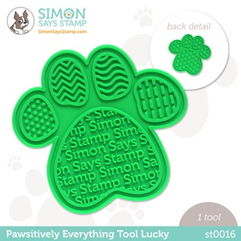 Simon Says Stamp PET PAWSITIVELY EVERYTHING TOOL LUCKY st0016 Peace on Earth