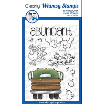 Whimsy Stamps FILL A HARVEST TRUCK Clear Stamps BS1035