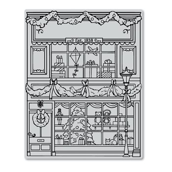 Hero Arts Cling Stamp GIFT SHOP BACKGROUND BOLD PRINTS CG865