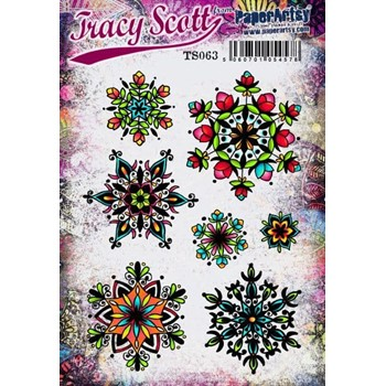 Paper Artsy TRACY SCOTT 063 Cling Stamps ts063