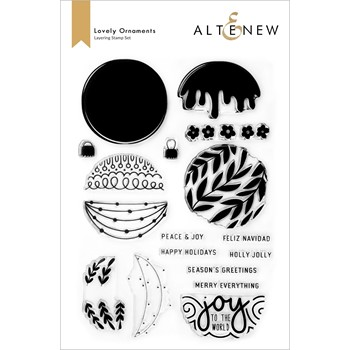Altenew LOVELY ORNAMENTS Clear Stamps ALT6508