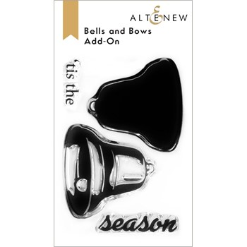 Altenew BELLS AND BOWS ADD ON Clear Stamps ALT6493