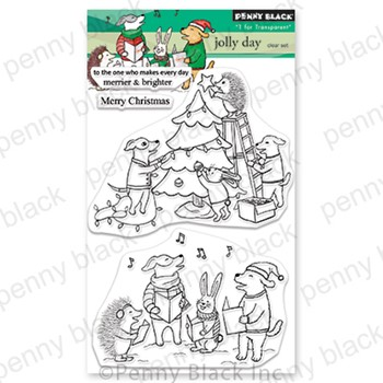 Penny Black Clear Stamps JOLLY DAY 30-877