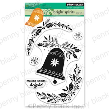 Penny Black Clear Stamps BRIGHT SPIRITS 30-864