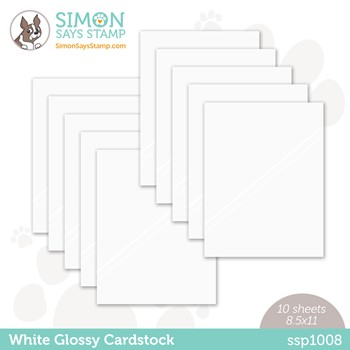 Simon Says Stamp Cardstock WHITE GLOSSY ssp1008 Peace On Earth