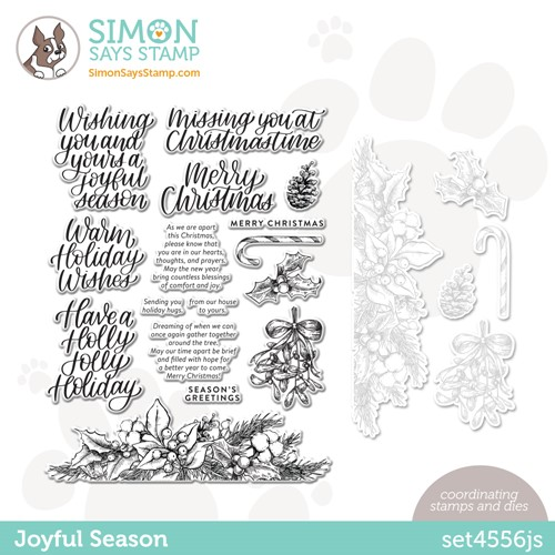 Simon Says Stamps and Dies JOYFUL SEASON Set4556js Peace On Earth Preview Image