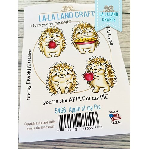 La-La Land Crafts Cling Stamps APPLE OF MY DAY 5644 Preview Image