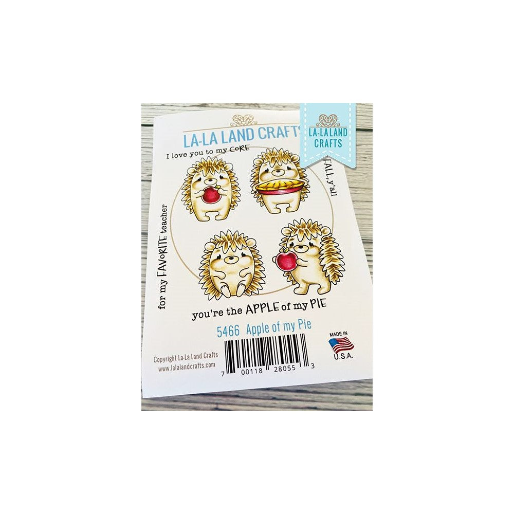 La-La Land Crafts Cling Stamps APPLE OF MY DAY 5644 zoom image