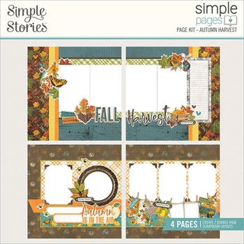 Simple Stories VINTAGE COUNTRY HARVEST Page Kit 16334