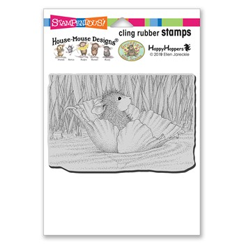 Stampendous Cling Stamp STREAM FLOAT hmcp148 House Mouse