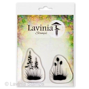 Lavinia Stamps SILHOUETTE FOLIAGE Clear Stamps LAV683