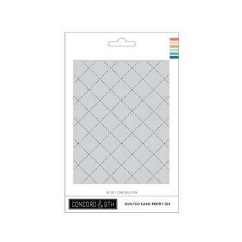 Concord & 9th QUILTED CARD FRONT Die 11235