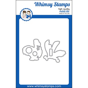 Whimsy Stamps GOBBLE THIS Dies WSD575