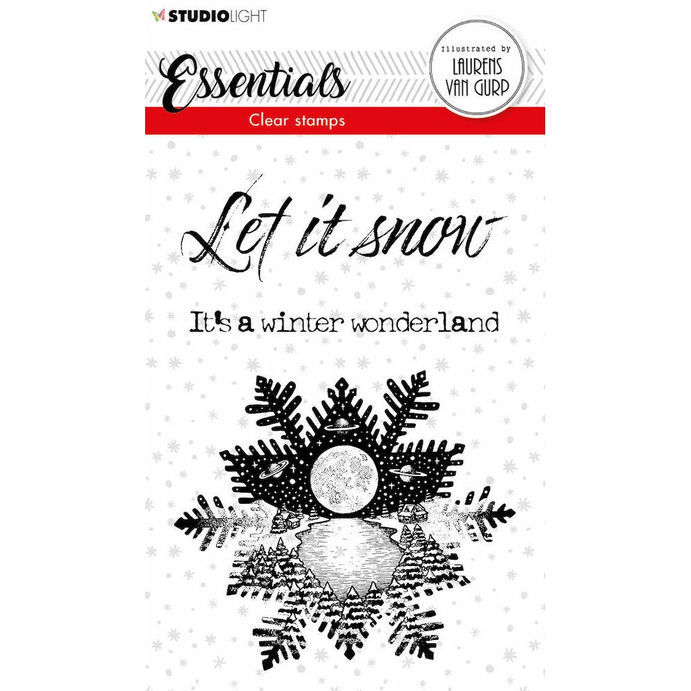 Studio Light SNOWFLAKE BL Essentials Clear stamps 113 blesstamp113 zoom image