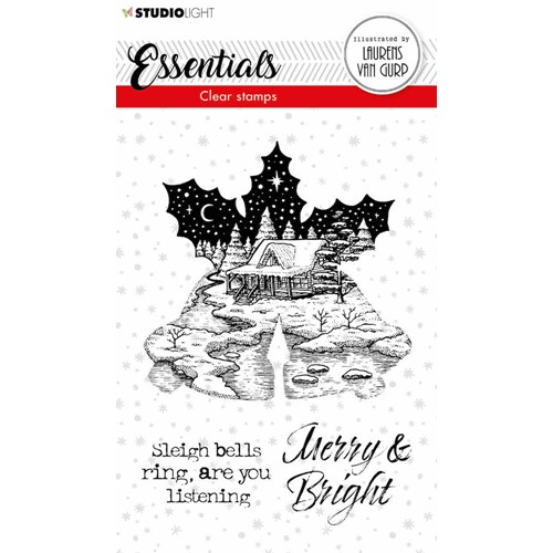 Studio Light CHRISTMAS BELLS BL Essentials Clear Stamps 114 blesstamp114 Preview Image