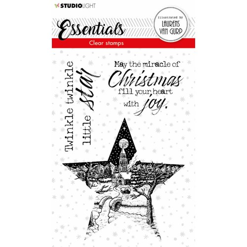 Studio Light STAR BL Essentials Clear Stamps 112 blesstamp112 Preview Image