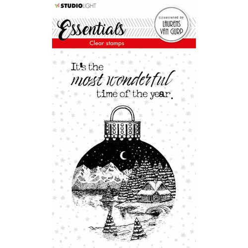 Studio Light CHRISTMAS BALL BL Essentials Clear Stamps 116 blesstamp116 Preview Image