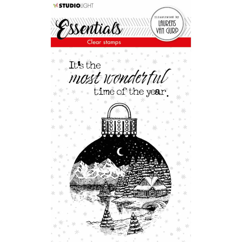 Studio Light CHRISTMAS BALL BL Essentials Clear Stamps 116 blesstamp116 zoom image
