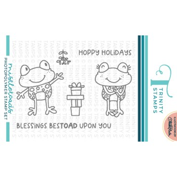 Trinity Stamps MISTLETOADS Clear Stamp Set tps153