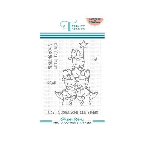 Trinity Stamps TREE REX Clear Stamp Set tps152 Preview Image