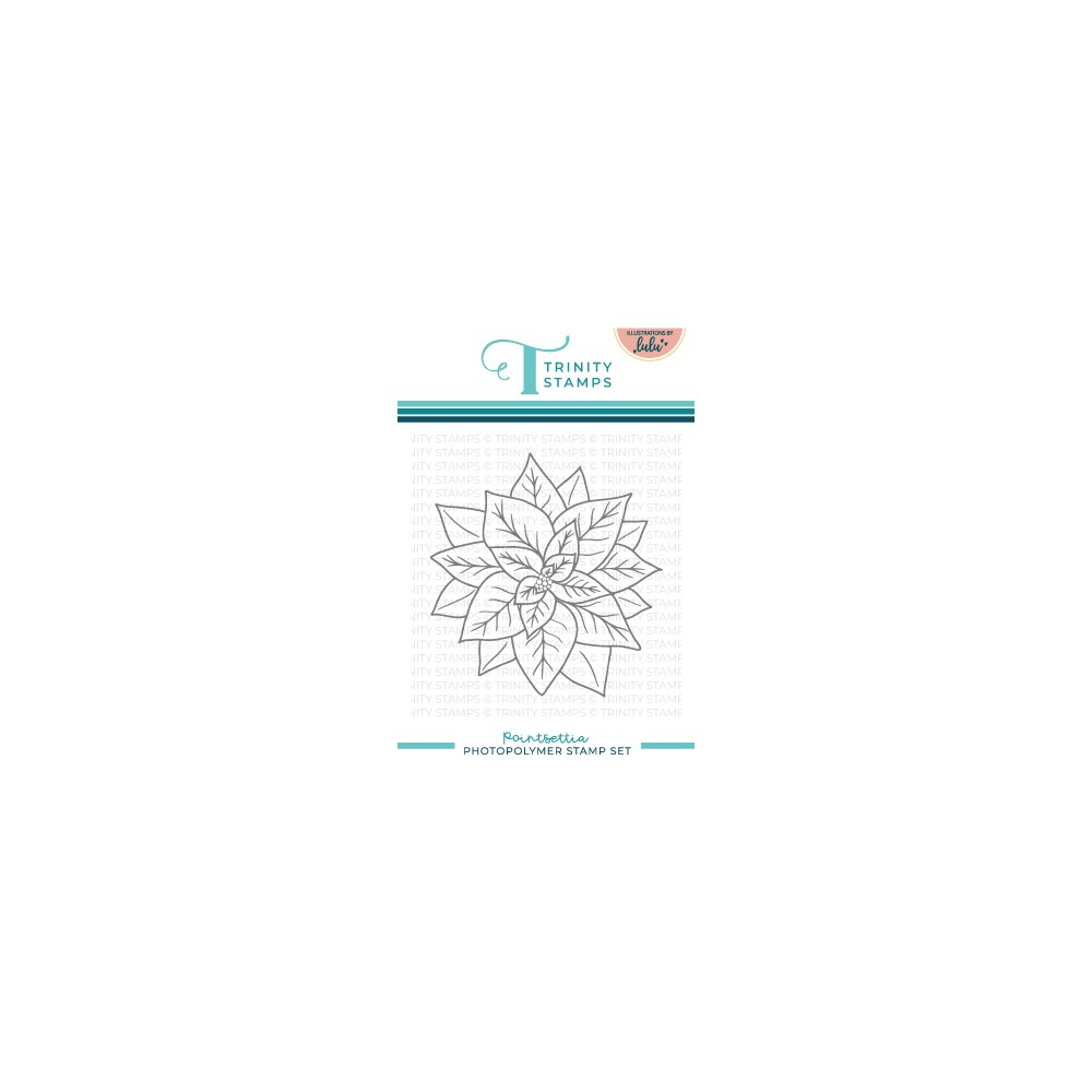 Trinity Stamps POINSETTIA Clear Stamp Set tps155 zoom image