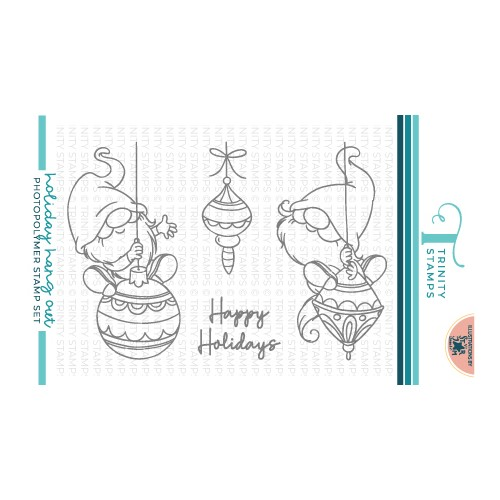 Trinity Stamps HOLIDAY HANG OUT Clear Stamp Set tps157 Preview Image